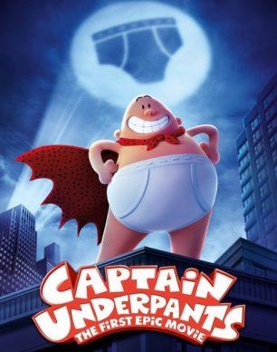 دانلود انیمیشن Captain Underpants 2017 دوبله فارسی