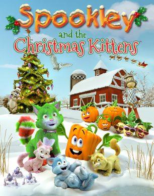 دانلود انیمیشن Spookley and the Christmas Kittens 2019